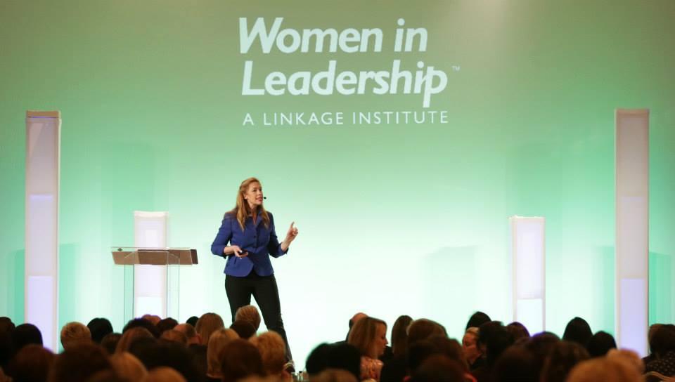 Susan Brady speaking at the 2013 Women In Leadership Institute